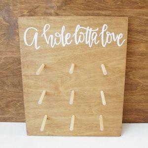 9 PCS NEW DIY Donut Wall / Board